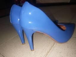 Título do anúncio: Scarpin Azul Royal