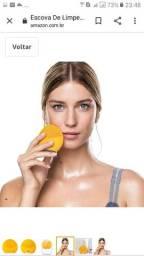 Título do anúncio: Esponja massageadora e de limpeza facial