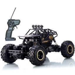 Monstro Carro Controle Remoto Rock Met 4x4 Recarregável