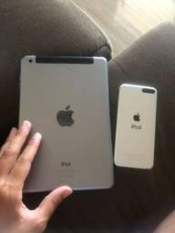 Vendo ipad e ipod para retirar peças