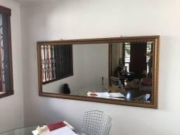 Espelho antigo facetado