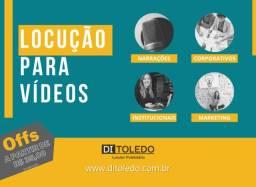 Locução Publicitária, Locutor, Locução Para Vídeos, Gravação de Locução, Offs, Spots