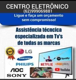Título do anúncio: SUA TV ESTRAGOU E SÓ ME LIGAR CONÇERTO EM DOMICÍLIO