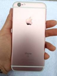 iPhone 6s rose 128gb seminovo perfeito estado