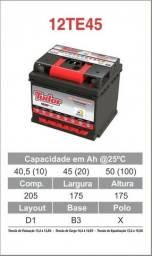 Baterias tudor 45ah novas R$ 250,00- avista a base de troca