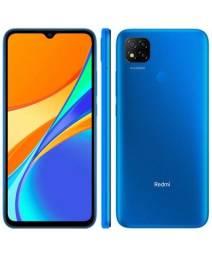 Título do anúncio: Redmi 9 64GB Azul NOVO