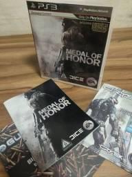 Manual , capa e case Medal of horror