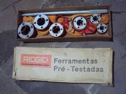 Kit Rosqueadeira Tubos Tarraxa Manual Ridgid 1/2 - 2 Npt 12r
