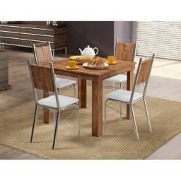 Título do anúncio: Mesa de jantar 4 cadeiras - frete grátis