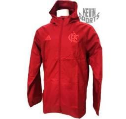 Jaqueta Impermeável Original Flamengo Adidas 96e1d74e21474