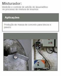 Sensor de Umidade para concreto