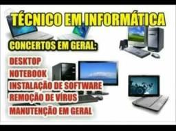 Informatica serviços a domicilio em Recife