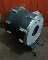 Bumbo de bateria Saema adaptado