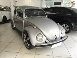 Volkswagen fusca 1600 álcool 2p 1985 cor cinza - 1985