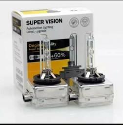 Par de lâmpadas xenon modelo D1S 6.000k