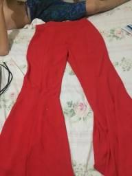 Calça social TAM 44 com pantalona