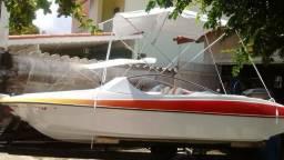 Vendo Lancha Flipper 16 pés semi-nova - 2000