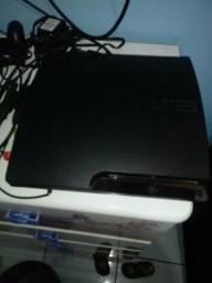 PS3 com jogos