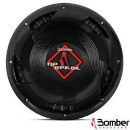 Subwoofer Bomber UpGrade 350w rms 4 ohms, promoção para dinh. R$ 169,99
