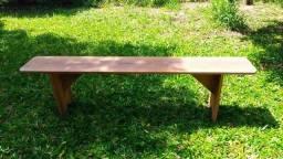 Cadeira banco madeira
