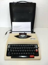 Antiga Maquina Escrever Remington 280 De Luxe Datilografia