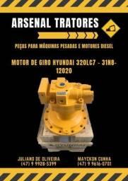 Motor hidráulico de Giro Hyundai R320LC7 Novo 31N8-12020
