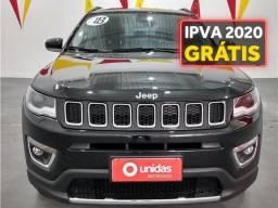 Jeep Compass 2.0 16v flex limited automático - 2018