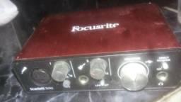 Interface de audio focusrite