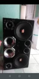 Caixa de som alto falante de10 muito potente