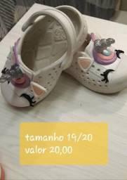 Calçados infantis femininos desapego