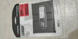 Ssd Hd Kingston 960gb 1tb M.2 Nvme Leit 1500mb Grav 1000mb