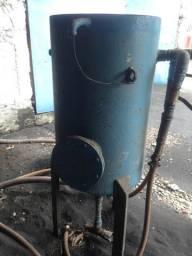 Máquina de Jateamento Abrasivo com mangueira e equipamentos