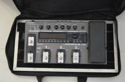 Pedaleira Zoom GFX -5 + Board ( Molezinha )