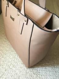 Bolsa rose tamanho G
