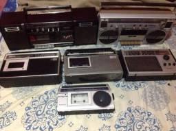 Lote de rádios antigos