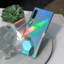 Samsung Note 10 prata, 8GB/256GB, novo/lacrado, nota fiscal, aceitamos cartão