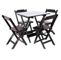 Mesas e cadeiras- Dobráveis- Promoção