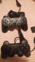 Controle Joystick Analógico Dualshock Sony PS2