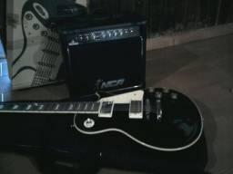Guitarra Les Paul + Acessórios - Sinop MT