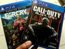 Troco Far Cry 4 + Black Ops 3 por God of War 4