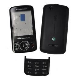 Carcaça Sony Ericsson w100 preta