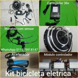 Kit conversão bicicleta eletrica aro 26