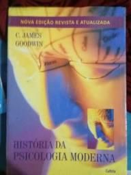 Livro História da Psicologia Moderna