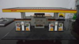 Posto De Combustível Shell Anos 80