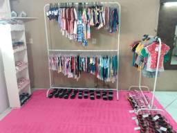 Vendo loja roupa infantil