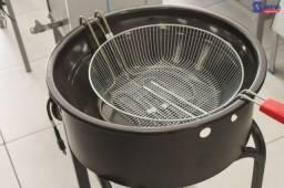 Fritadeira em tacho Progás Elétrica 14 Litros - Sibéria Equipamentos