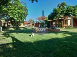 Casa com 4 dormitórios à venda, 450 m² por R$ 1.100.000 - Verão Vermelho (unamar)- Cabo Fr