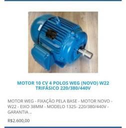 Motor Elétrico Novo da WEG