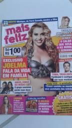 Revista Mais Feliz - Capa: Joelma