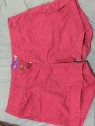 Short rosa neon